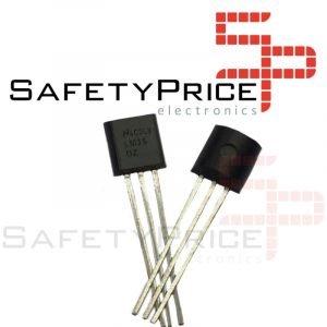 LM35 Sensor de temperatura analogico LM35DZ TO92