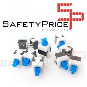 10x Boton Interruptor 7x7mm PUSH BOTTON SWITCH