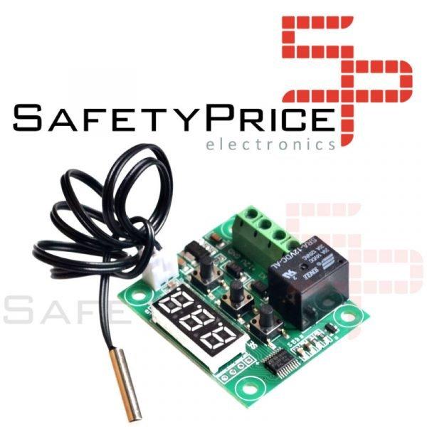 W1209 Termostato controlador de temperatura digital con switch 12v