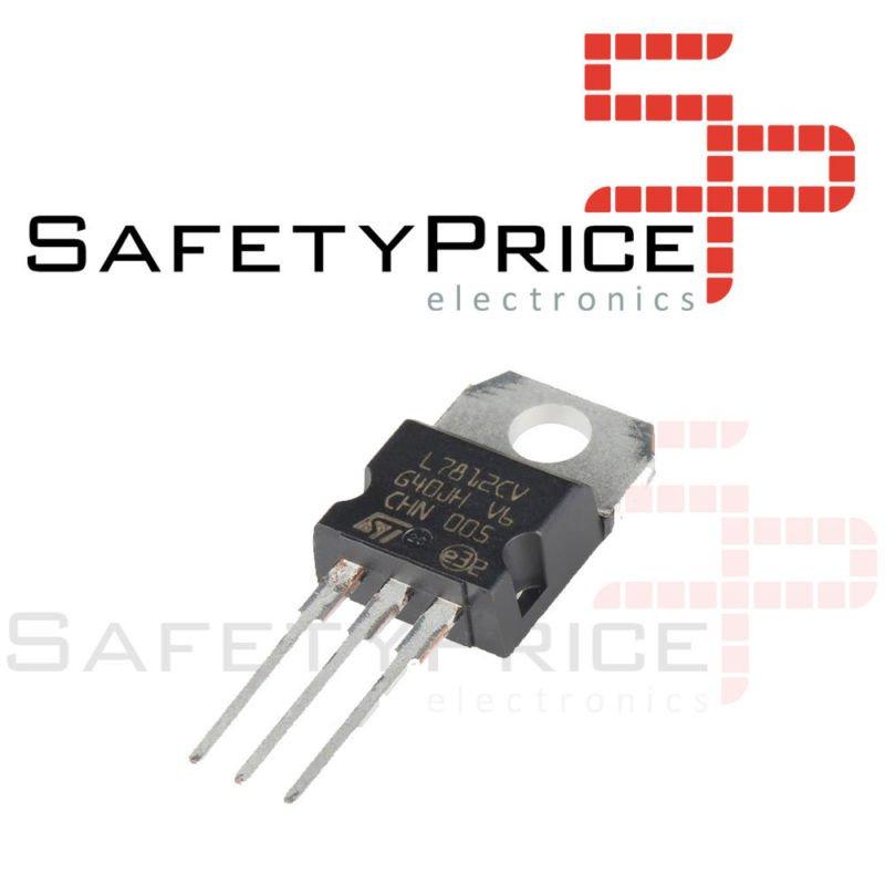 6x Regulador tension L7812CV LM7812 7812 12V 1,5A