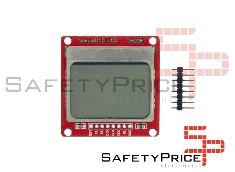 Pantalla GRAFICA LCD NOKIA 5110 3310 84x48 SPI arduino Display