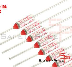 3x THERMAL FUSE FUSIBLE TERMICO TF 172C 250V 10A 172ºC SP