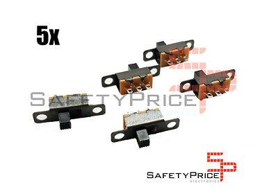 5x Mini interruptor deslizante On Off empotrable SP