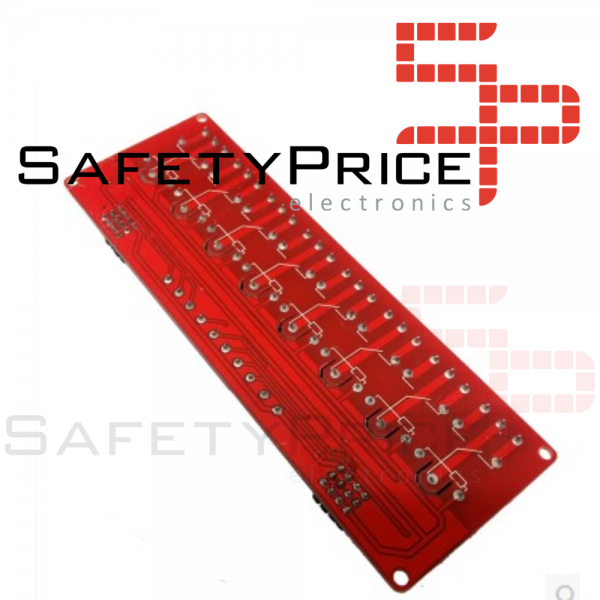 Modulo rele 8 canales 5V LOW/HIGH LEVEL SP