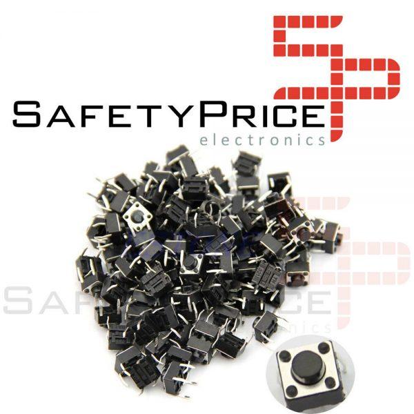 20x Pulsador Mini pulsador 6x6x5mm PCB SP