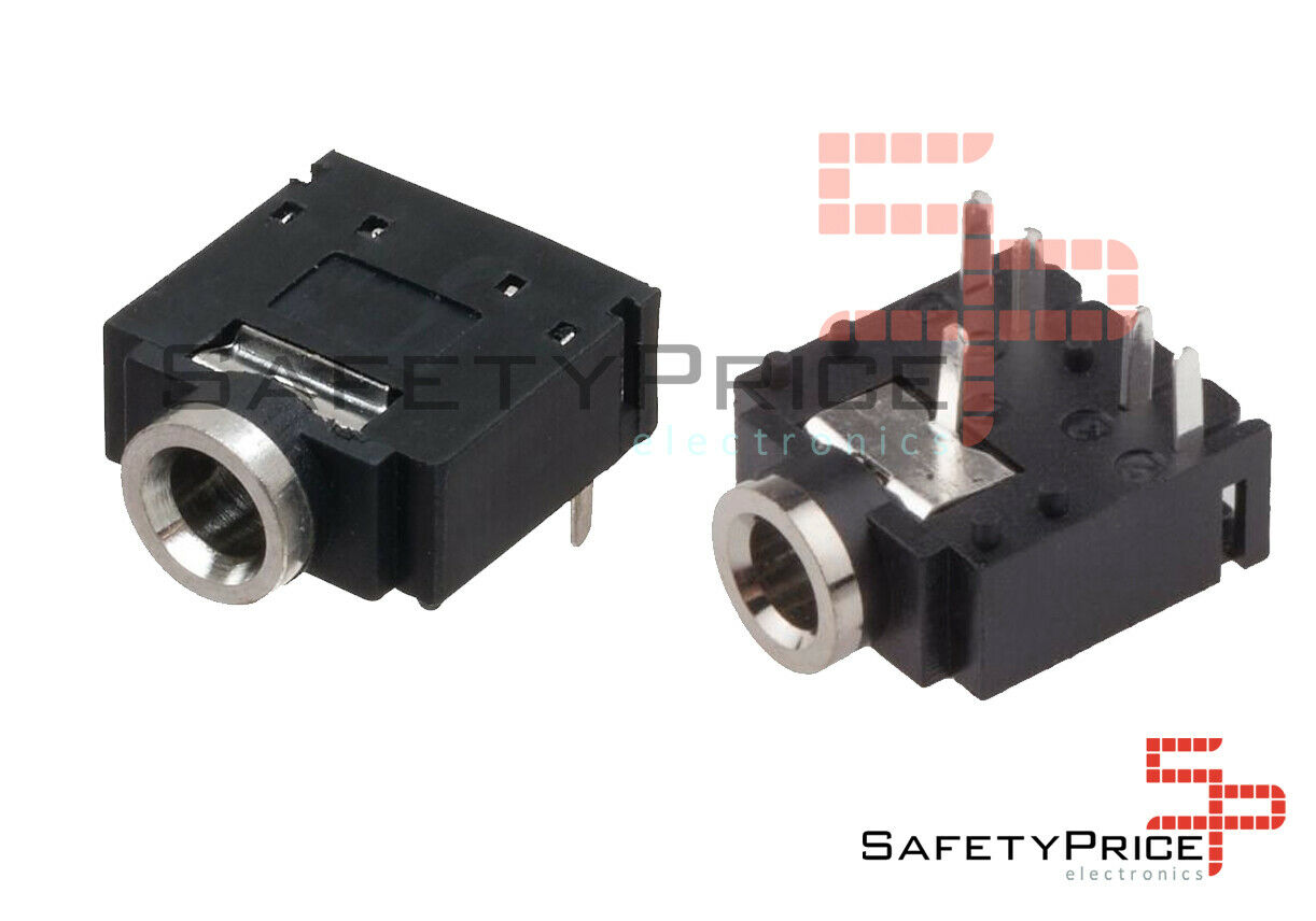 Jack stereo 3.5mm Conector Hembra Chasis SP