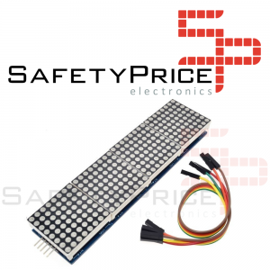 MODULO MATRIZ LED 32X8 ROJO MAX7219 SPI SP
