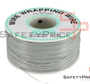 Bobina AWG30 GRIS 200m Cable Hilo WRAPPING SP