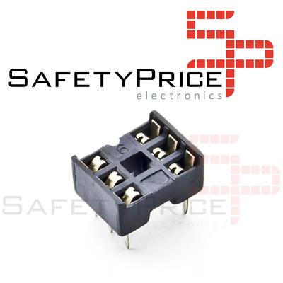 10x Zocalo integrado 6 PINs DIP 6 Socket doble contacto SP