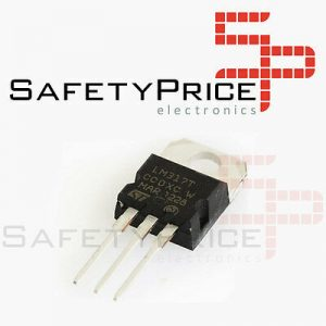 6x REGULADOR TENSION LM317T 1.2V A 37V 1.5A TO-220 SP