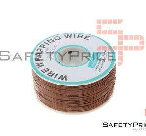 Bobina AWG30 MARRON 200m Cable Hilo WRAPPING SP