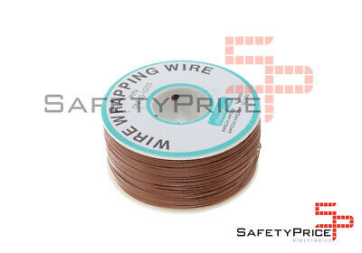 Bobina AWG30 MARRON 200m Cable Hilo WRAPPING SP