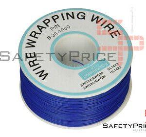 Bobina AWG30 AZUL 200m Cable Hilo WRAPPING SP