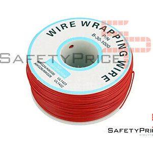 Bobina AWG30 ROJA 200m Cable Hilo WRAPPING SP