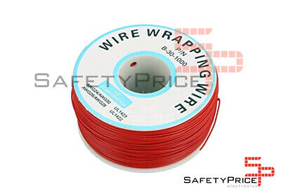 Bobina AWG30 ROJA 200m Cable Hilo WRAPPING SP