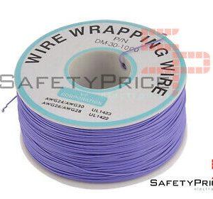 Bobina AWG30 VIOLETA 200m Cable Hilo WRAPPING SP