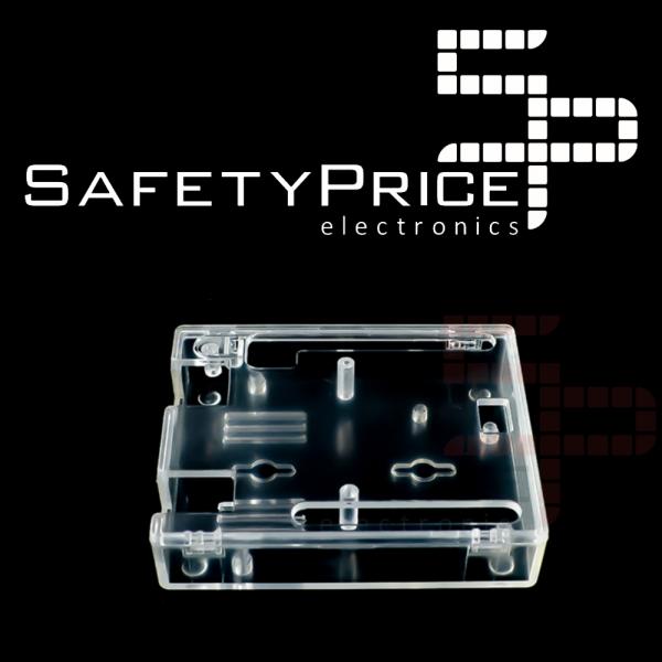 Caja Arduino Uno R3 acrílica transparente SP