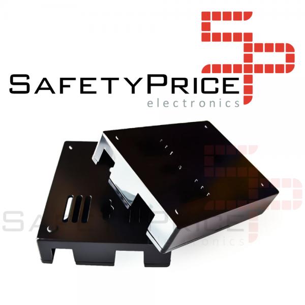 Caja Arduino Uno R3 acrílica Negro SP