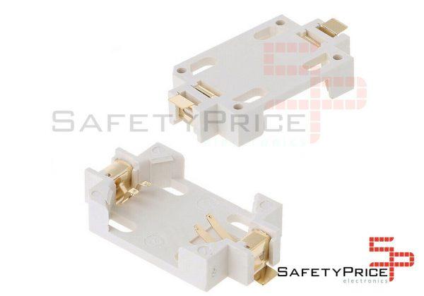 Portapilas SMD porta pila Boton 3v CR2032 SP