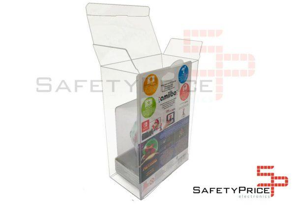 Funda protectora plastico PET para figuras cajas Amiibo SP