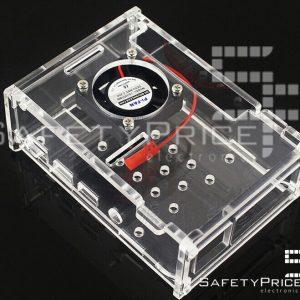 Carcasa transparente acrilica raspberry pi 4 SP