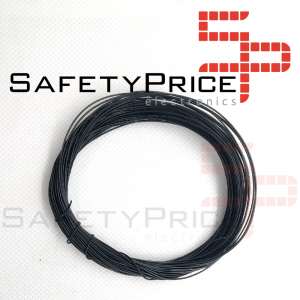 ROLLO 11 METROS CABLE AWG30 NEGRO SP