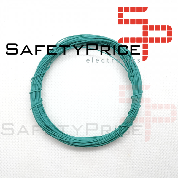 ROLLO 11 METROS CABLE AWG30 VERDE SP