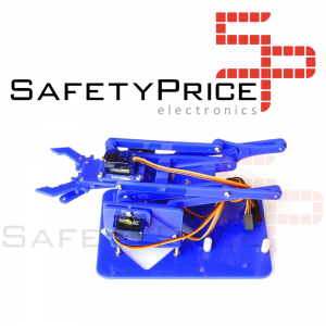 Kit de aprendizaje brazo robótico acrílico arduino 4 DOF SP