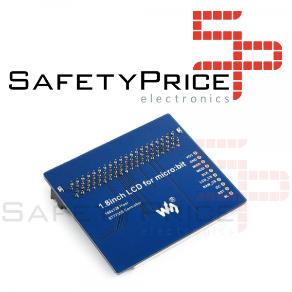 Micro:bit Placa de expansión Pantalla LCD color 1,8 pulgadas Pantalla SPI SP