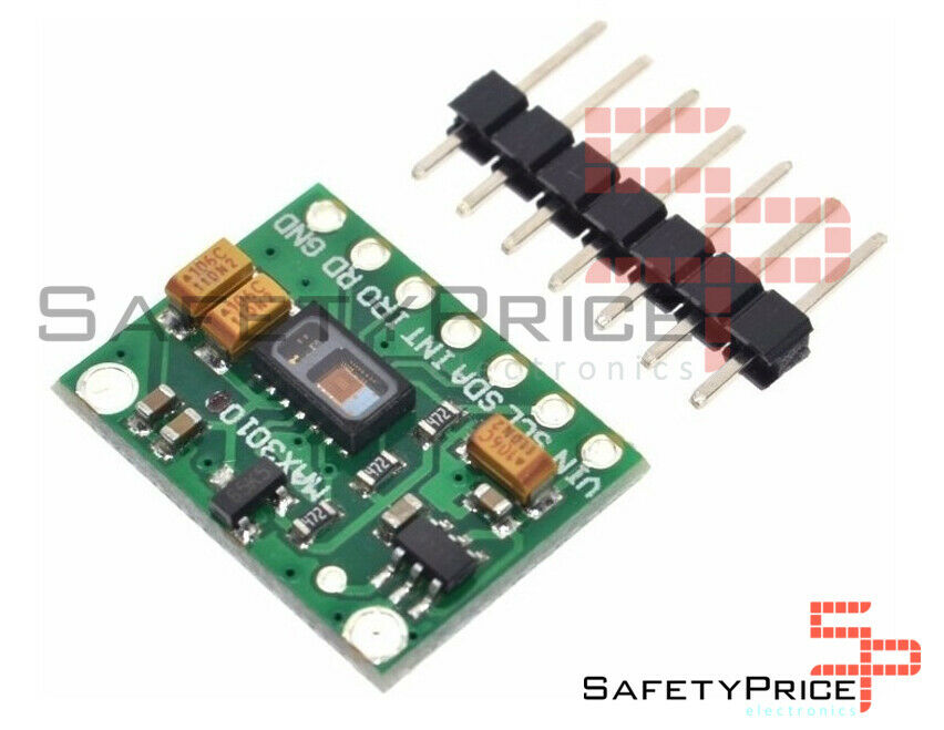 MAX30102 sensor latido frecuencia cardiaca SP