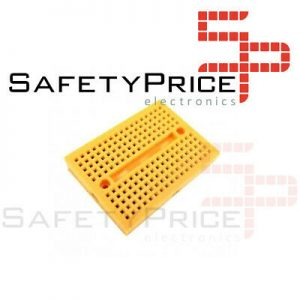MINI BREADBOARD PROTOBOARD 170 PUNTOS AMARILLO SP