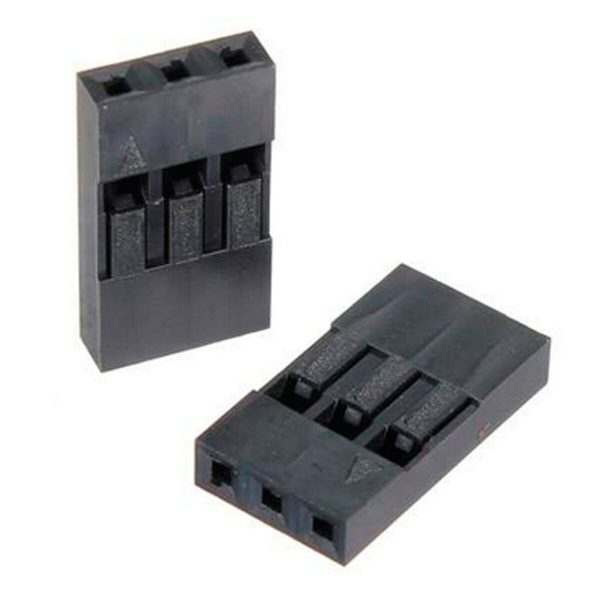 Fundas/Conectores Dupont Jumper 1-2-3-4-5-8-10 Pin a 2.54mm SP