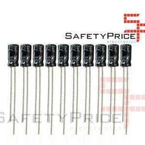 10X CONDENSADOR ELECTROLITICO 3.3UF 50V 105º C SP