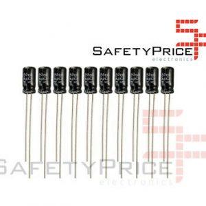 10X CONDENSADOR ELECTROLITICO 2.2UF 50V 105º C SP
