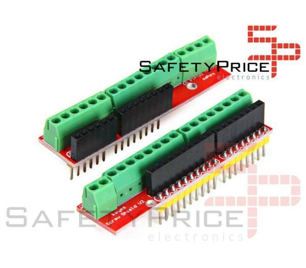 Screw Shield V2 compatible Arduino Uno Terminales de tornillo SP
