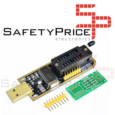 PROGRAMADOR EEPROM Flash BIOS USB 24 25 Series CH341A