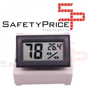 Termohigrometro termometro digital temperatura y humedad exterior