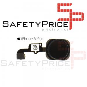 Boton Home iPhone 6 PLUS Negro Cable Flex Menu Huella Touch ID Inicio 6+