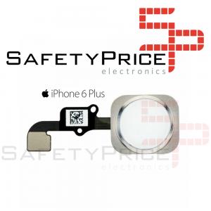 Boton Home iPhone 6 PLUS Blanco Cable Flex Menu Huella Touch ID Inicio 6+