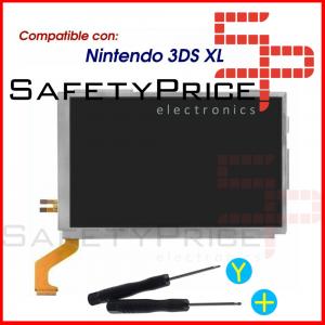 KIT REPARACION Pantalla LCD Superior Nintendo 3DS XL + HERRAMIENTAS