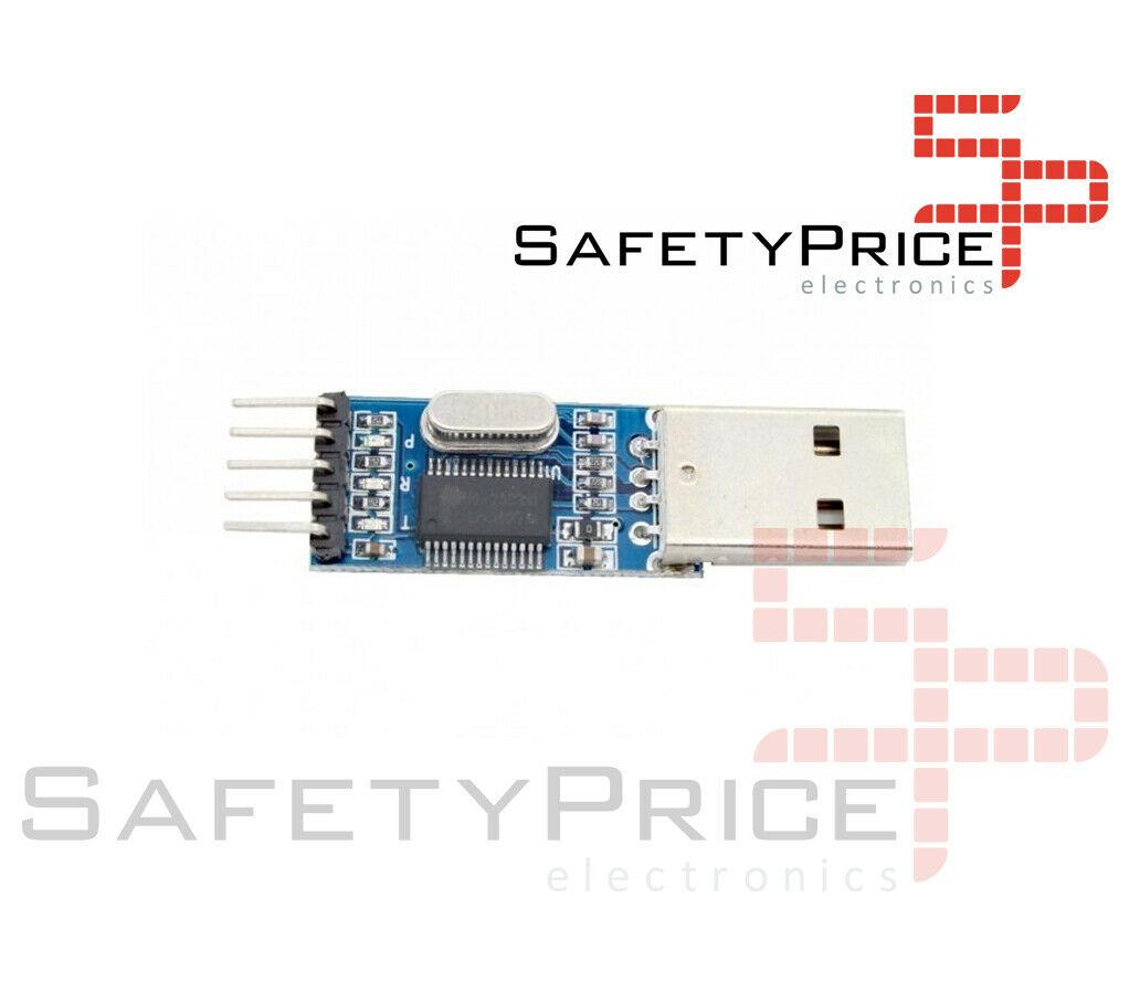CONVERSOR USB A SERIE RS232 UART TTL 5V + CABLES DUPONT - PL2303HX