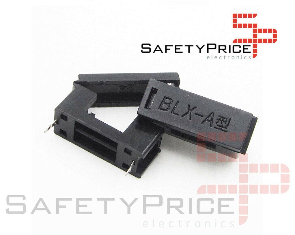 Portafusible 5x20 Tapa abatible 250V 6A BLX-A