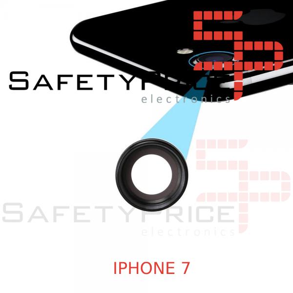 Cristal cámara trasera iPhone 7