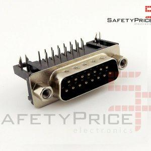 Conector DB15 Macho para soldar en PCB