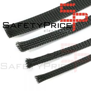 "Funda para cable malla proteccion 10 mm tipo ""piel de serpiente"" PET Modelismo RC"