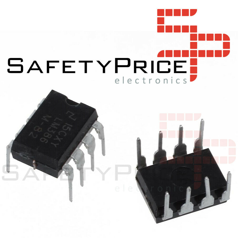 LM386 - Amplificador de Potencia de Audio - LM386N