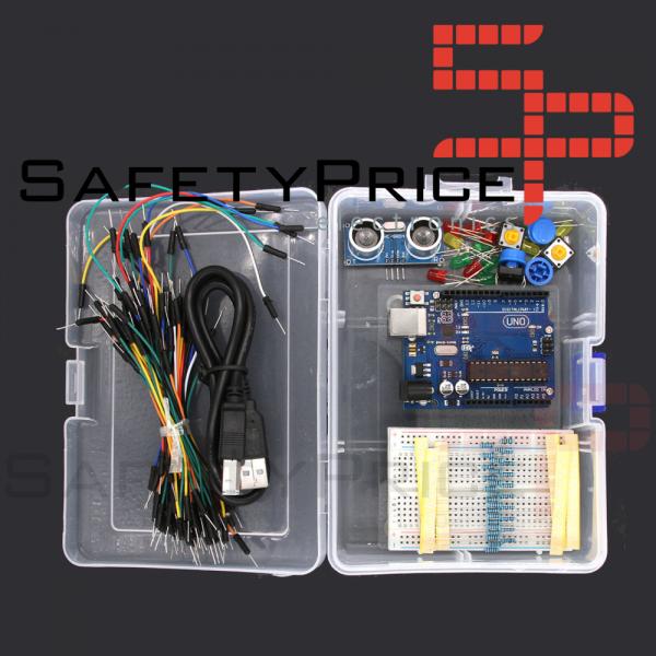 Mini KIT Arduino Básico Mini UNO Atmega328 compatible 100% + CAJA