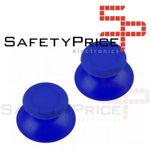 2x JOYSTICK PS4 PLAYSTATION 4 ANALOGICO MANDO THUMB STICK BOTONES R3 L3 AZUL