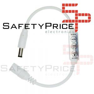 Controlador atenuador brillo Tira Led Monocolor 3 Teclas 12v 5050 3528 Dimmer DC