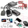 Cable Adaptador Micro USB Host HUB a 2 USB Hembra para Smartphone Tablet Android